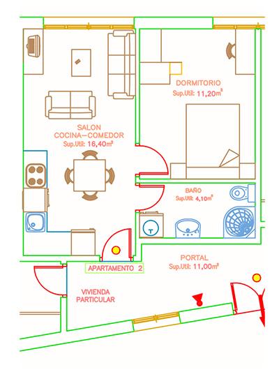 plano apartamento 2